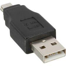 USB A vers mini USB  B  adaptateur-mâle/mâle USB 2.0