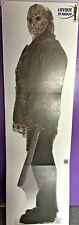 JASON VOORHIES FRIDAY THE 13TH LIFESIZE CARDBOARD STANDUP!  New!