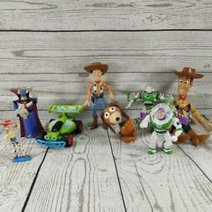 Toy Story Figures mixed Bundle - McDonalds Happy Meal and official Disney Toys