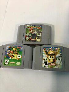 Lot of 3 Nintendo N64 Games