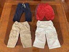 Lot BOYS Clothes Size 18M Pants 4 Items, The Children's Place, Gap, Carters EUC!