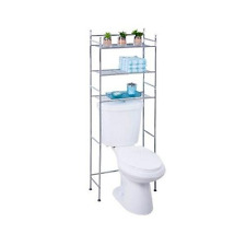 tower shelf 3 tier rack over the toilet storage organizer space saver