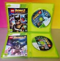 LEGO Batman 2 and  3 Super Heroes Beyond Gotham  - Xbox 360 2 Game Bundle Lot