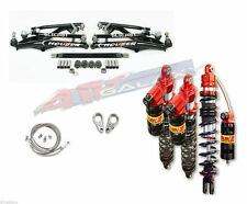 HOUSER +1 XC LONG TRAVEL + ELKA LEGACY FRONT REAR SHOCKS SUSPENSION KIT TRX450R