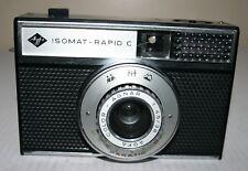 Agfa Isomat Rapid C - Film Camera With Agnar 1:4.5 38mm Lens & Case - RARE