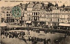 CPA Saint Quentin. Les Prussiens sur la Grand'Place en 1871 (665854)