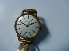WATCH MONTRE NIVADA 17 RUBIS SWISS MADE BRACELET EXPANDRO ROLLED GOLD VINTAGE