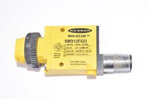 Banner Engineering, Model: SM312FQD, Mini-Beam Series Photoelectric Sensor, Glas
