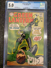 Green Lantern #59- CGC 5.0 - Never Pressed or Cleaned - First Guy Gardner