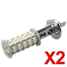 2X H1 LAMPE AMPOULE SMD 68 LED BLANC 5500K POUR VOITURE J5U8