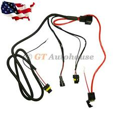 H3 H4 H7 H11 9005 9006 HID Conversion Kit Relay Wire Harness Adapter Wiring