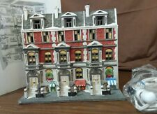 Dept 56 Christmas In The City Lighted 1987 Sutton Place Brownstones 59617