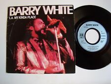 "BARRY WHITE : L.A. my kinda place / I wanna do it good to ya  7"" 45T A&M 390600"