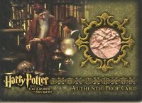 Harry Potter Chamber Secrets Books from Dumbledore's Office Prop Card HP P3 101/