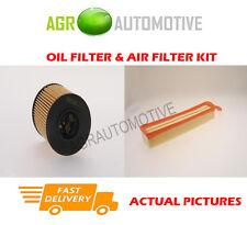 PETROL SERVICE KIT OIL AIR FILTER FOR PEUGEOT 207 SW 1.4 95 BHP 2007-13