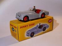 Triumph TR2 sports   - ref 105 au 1/43 de dinky toys atlas