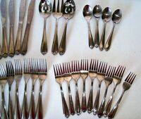 Hampton Silversmiths Romance Stainless Flatware 30 Piece Set