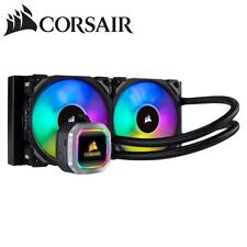 Corsair Liquid CPU Cooler Hydro H100i RGB Platinum 240mm Heatsink Fan