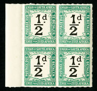 South Africa Stamps # J8 VF OG NH BLOCK 4