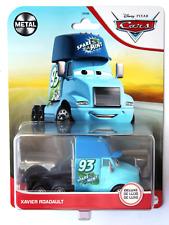 Disney Pixar Cars 2021 Deluxe Metal Series Xavier Roadault Spare O Mint Imperfec