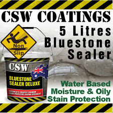 5L Bluestone Sealer - Moisture & Oily Stain Protection - Non Slip - Water Based