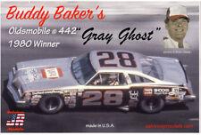Sal JR Buddy Baker 1980 Oldsmobile 442 Gray Ghost  Daytona 500 Winner kit 1/25