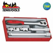 "Teng 5pc 1/2"" Drive Socket & Ratchet Accessories Set TT1205 - Tool Control Syste"