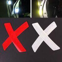 Nastro adesivo catarifrangente riflettente  moto auto avvertimento Cartello 4PCS