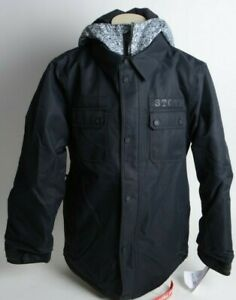 2021 NWT YOUTH VOLCOM NEOLITHIC INSULATED JACKET $170 M Black standard fit