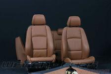 BMW 3er E92 Coupe Leder Sportsitze Lederausstattung Sattelbraun sport seats