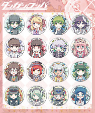 set of 18 Danganronpa V3 All Members Akamatsu kaede Cute Badge Brooch Pin Button