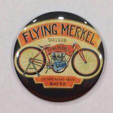 Flying Merkel Motorcycle Vintage Style Fridge Magnet Buy 1 Get 1 FREE