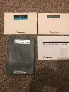 VAUXHALL ASTRA VEHICLE OWNERS MANUAL TS1217-A-94 AUDIO MANUAL TS 1377-A-91