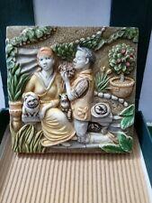 Picturesque Tile Harmony Kingdom Byrons Secret Garden Loves Labours Used