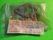 NOS  OEM FACTORY KAWASAKI A1 A1SS A7 A7SS OIL PUMP GASKET A1030-7121 16094-007