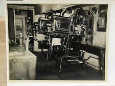 Powers Cameragraph No 6B 35mm movie theatre cinema projector carbon arc photo