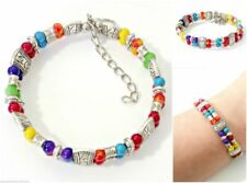 Silver Plated Lobster Acrylic Costume Bracelets