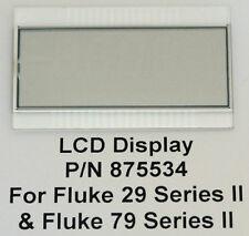Fluke LCD Display for 29 Series II and 79 Series II Meters P/N 875534