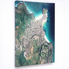 Personalised Canvas Maps (Aerial Photography (England and Wales only)) - Gift