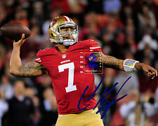 "Colin Kaepernick Quarterback San Francisco 49ers Signed 10x8""Color PHOTO REPRINT"