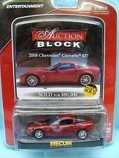 224 GREENLIGHT / AUCTION BLOCK / CHEVROLET CORVETTE 427 2008 1/64
