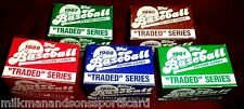 6 TOPPS TRADED SET LOT 1986 1987 1988 1989 1990 1991 baseball cards  GRIFFEY RC
