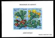 1992 MONACO BLOC N°55a NON DENT. LES FIGUES DE BARBARIE