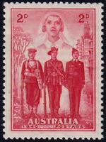 ✔️ AUSTRALIA 1940 - WWII NURSE AVIATOR SOLDIER - SC. 185  ** MNH $2.25 [ST005]