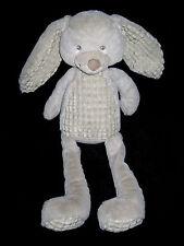 Doudou Grand Lapin gris Nicotoy Simba 45/60 cm identique Tex Baby Carrefour