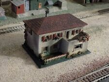 FALLER, HAND PAINTED HOUSE, SCALE HO