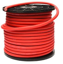 4 AWG GAUGE 25mm² OVERSIZED RED POWER CABLE CCA PER METRE HIGH QUALITY WIRE