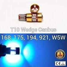 T10 W5W 194 175 168 2825 12961 Reverse Backup Light Ice Blue 27 Canbus LED M1 AR