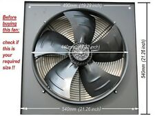 Industrial Extractor Fan 400mm, 16 inch, 240V, 1380 rpm New
