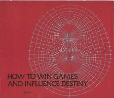 HOW TO WIN GAMES AND INFLUENCE DESTINY - Book I Strauss HIPPIE SPIRITUALITY